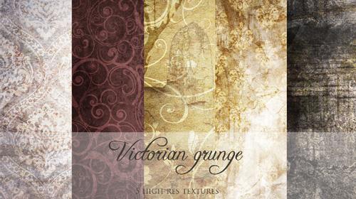 Victorian grunge texture pack