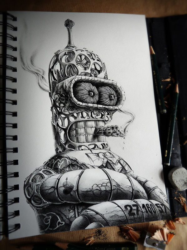 Spectacular sketches by PEZ