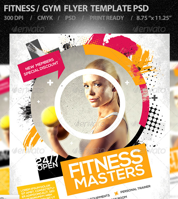15 excellent flyer templates for your next event Designer Daily – Fitness Flyer Template