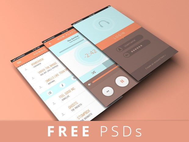 20 great psd mockups for app designers for App design online