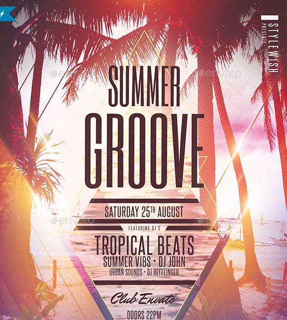 15 excellent flyer templates for your next event