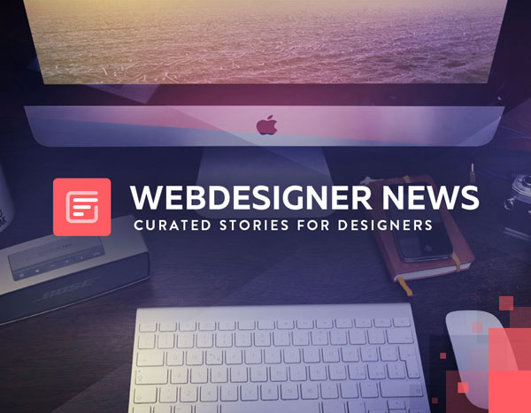 Webdesigner News: curated news for designers and developers