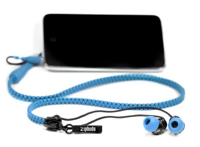 ANTI TANGLE ZIP UP EARPHONES