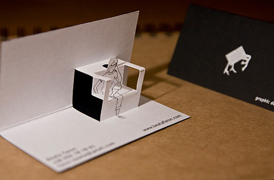 A collection of 15 truly unique business cards