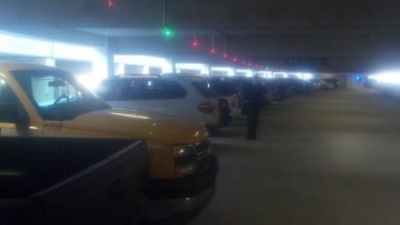 Car park availability signal