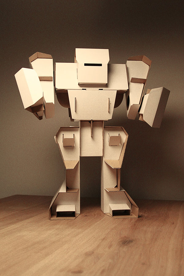 10 cool ideas to recycle useless cardboard. Black Bedroom Furniture Sets. Home Design Ideas