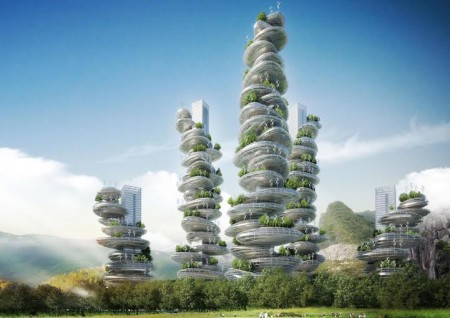 Vertical Farming Towers