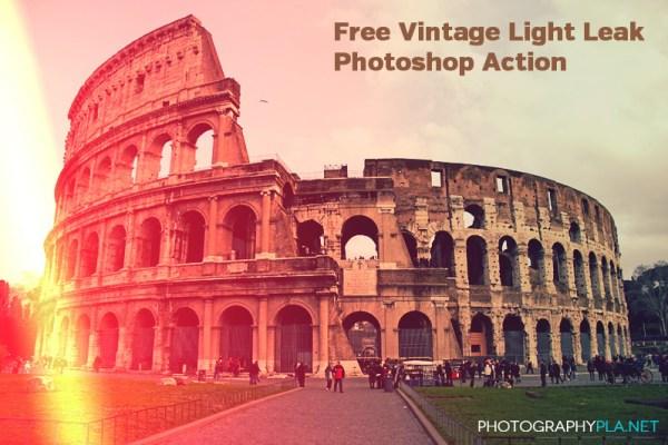Vintage Light Leak Action