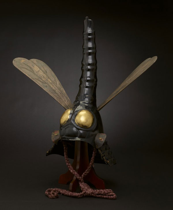 Stunning dragonfly helmet of the 17th century Japan