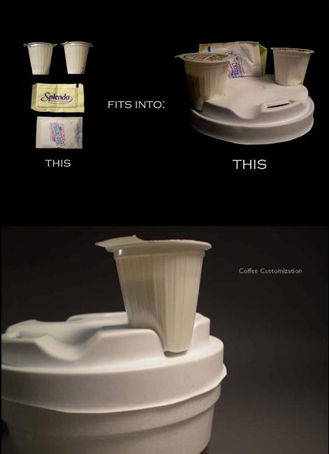 coffee ingredient holder