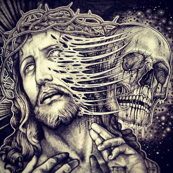 eerie-gruesome-gothic-black-white-animal-skull-art-paul-jackson-2
