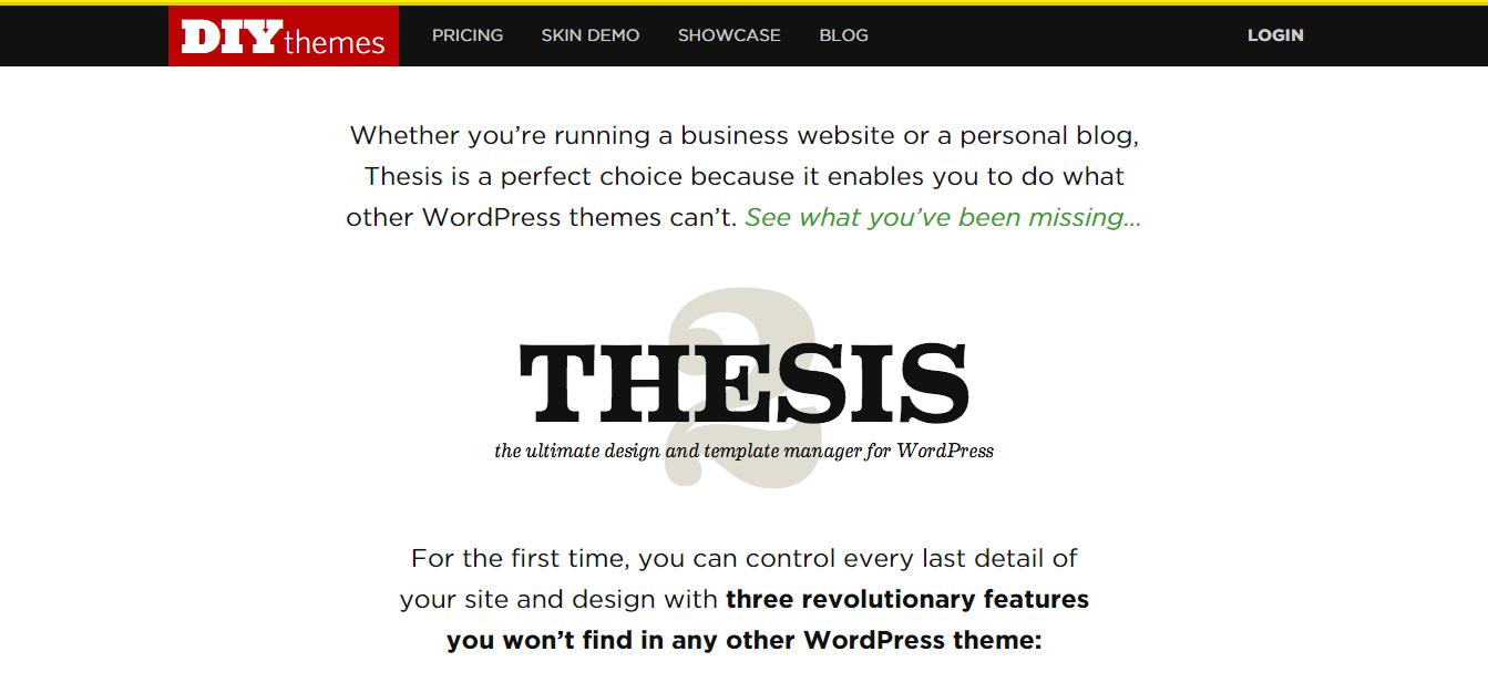 Thesis 15 theme