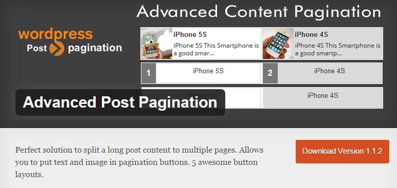 Advanced Post Pagination