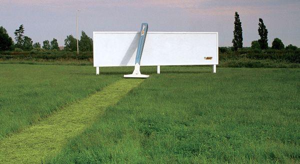 Bic Razor Billboard