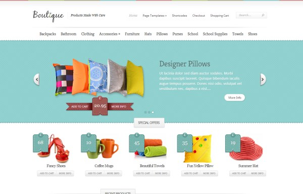 20 awesome e-commerce themes for WordPress
