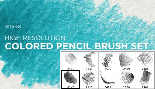 12 cool sets of free Photoshop pencil brushes - Designer Daily ...