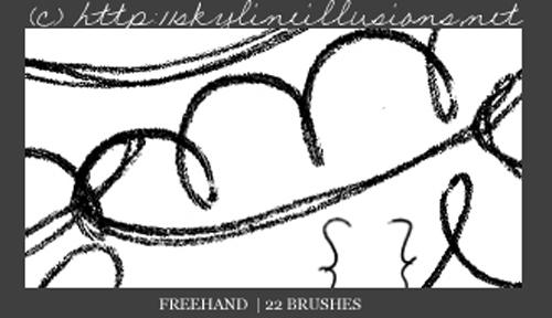 Freehand PS Brushes
