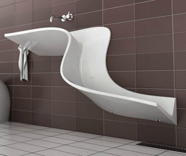 You ve never seen any sink like that 10 unusual designs for Bathroom seen photos