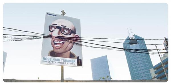Panasonic Nose Trimmer Baldy