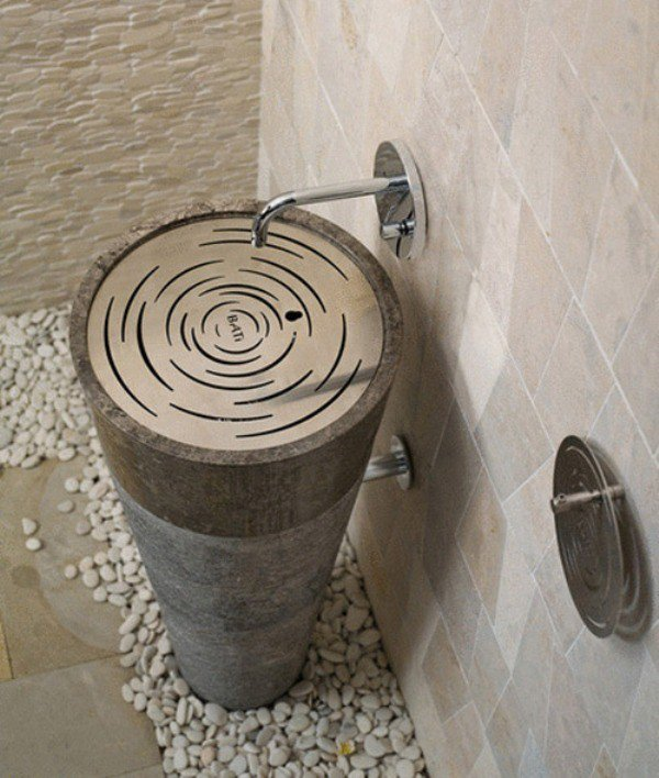 Designer Sink you've never seen any sink like that: 10 unusual designs for the