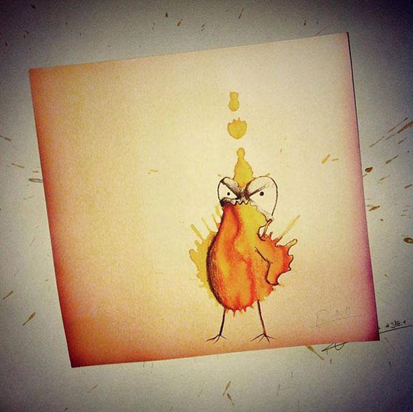 coffee-stain-doodle-monsters-coffeemonsters-stefan-kuhnigk67