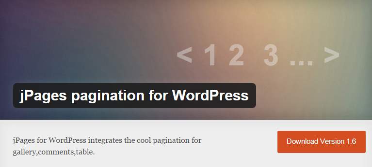 jPages pagination
