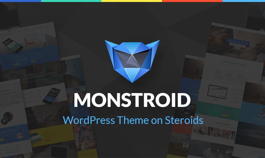 Monstroid – WordPress Theme That Takes Your Breath Away