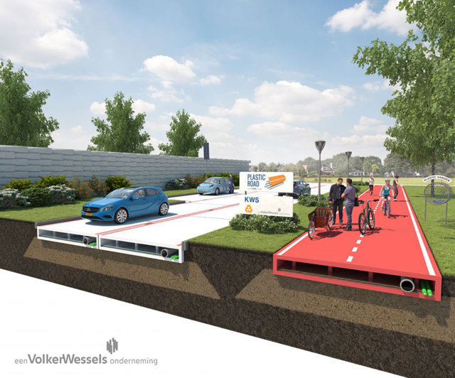 Are recycled plastic roads a realistic idea?