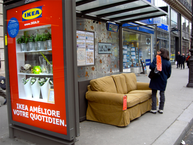 Ikeas-Bus-stop-makeover