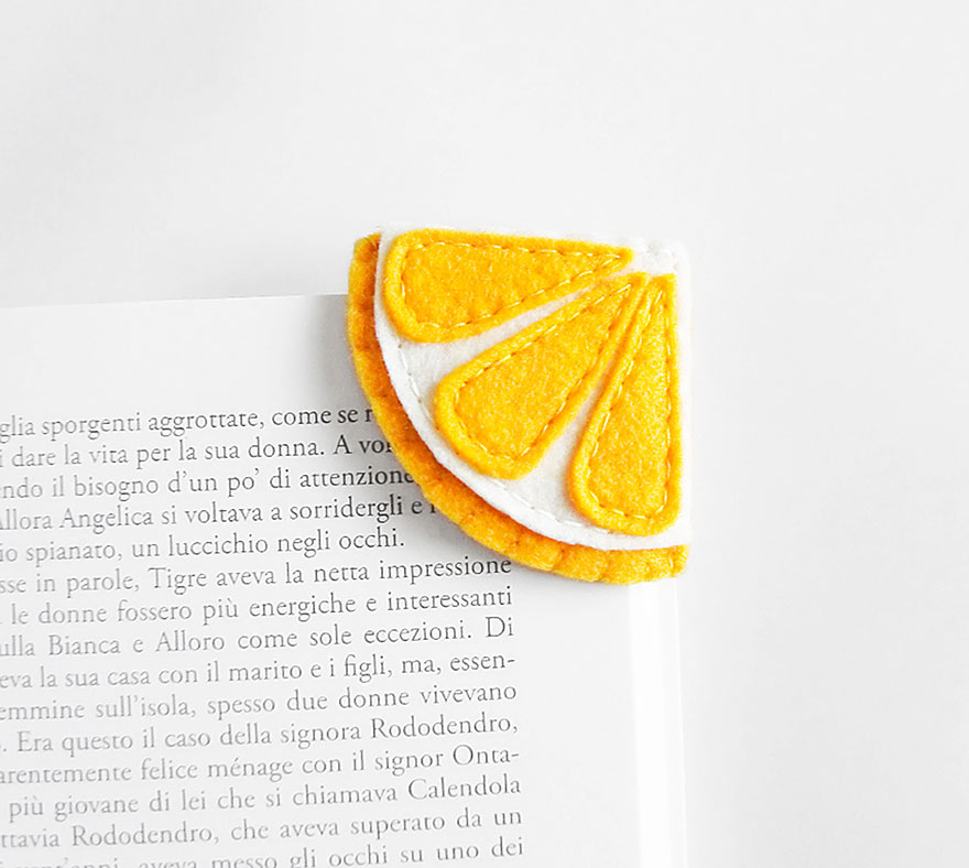 Products Bookmarks Design Inspiration And: Tiny Bookmarks That Look Like Food
