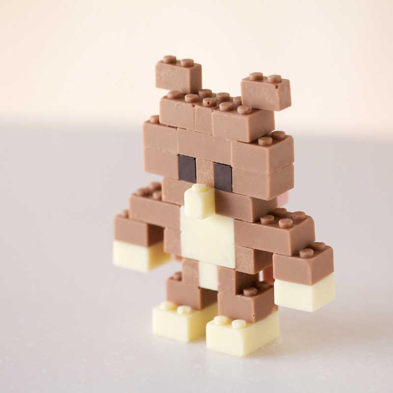 Chocolate Legos by Akihiro Mizuuchi