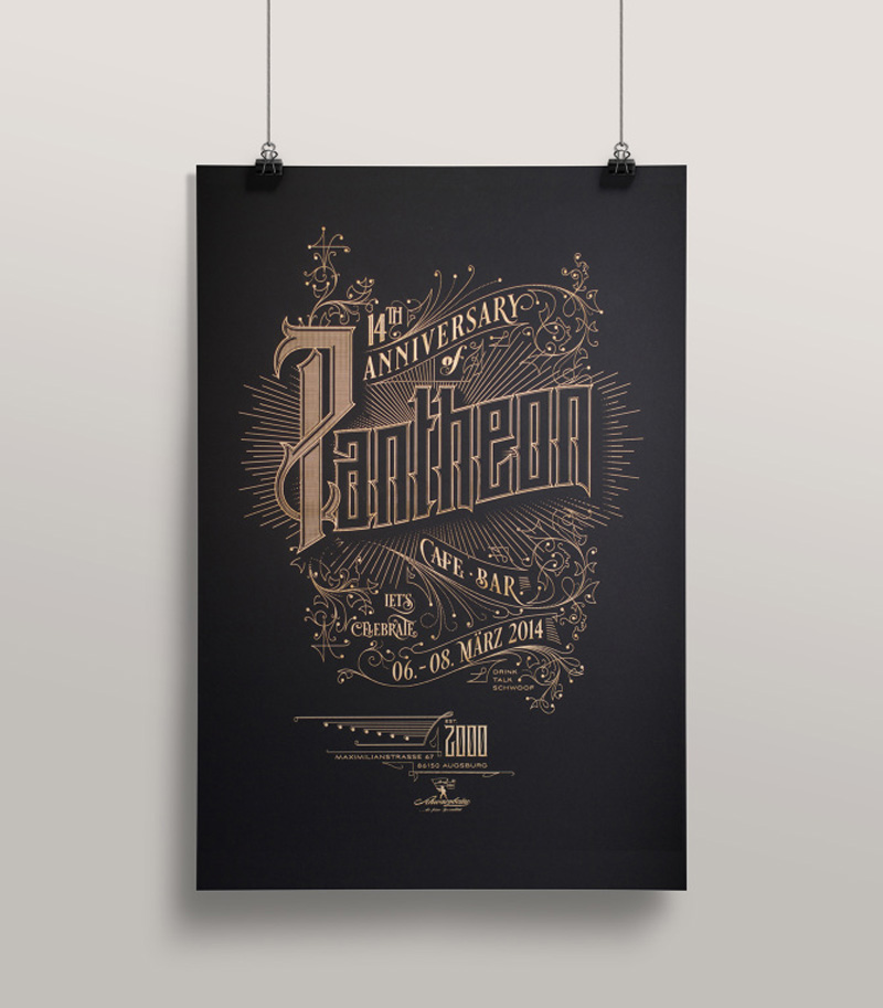 A collection of beautiful type and lettering samples