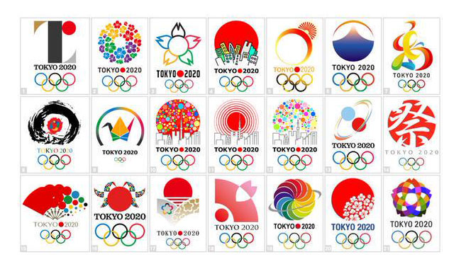 Designers offer alternatives to the abandonned Tokyo 2020 Olympics logo