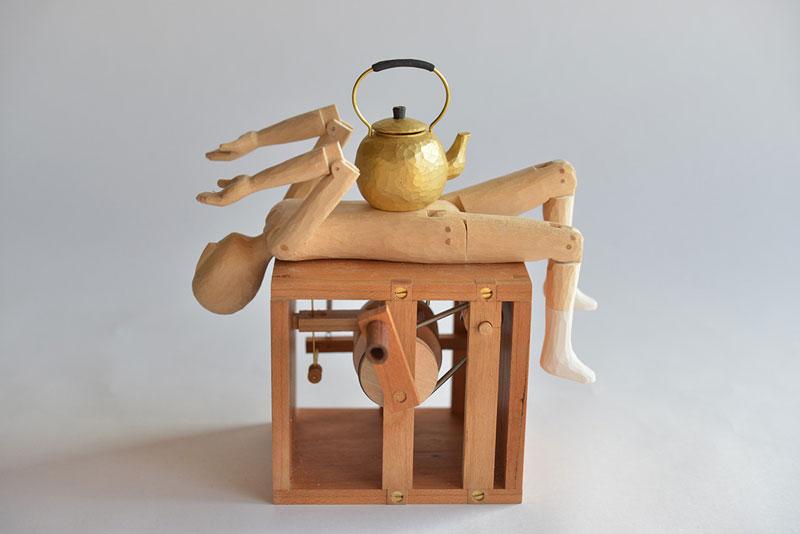 Creative automatons by Kazuaki Harada