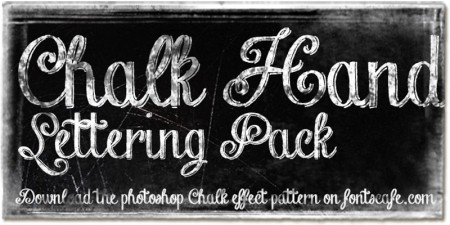 A Collection Of Chalk Fonts For Your Design Projects