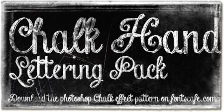 chalk-hand-lettering
