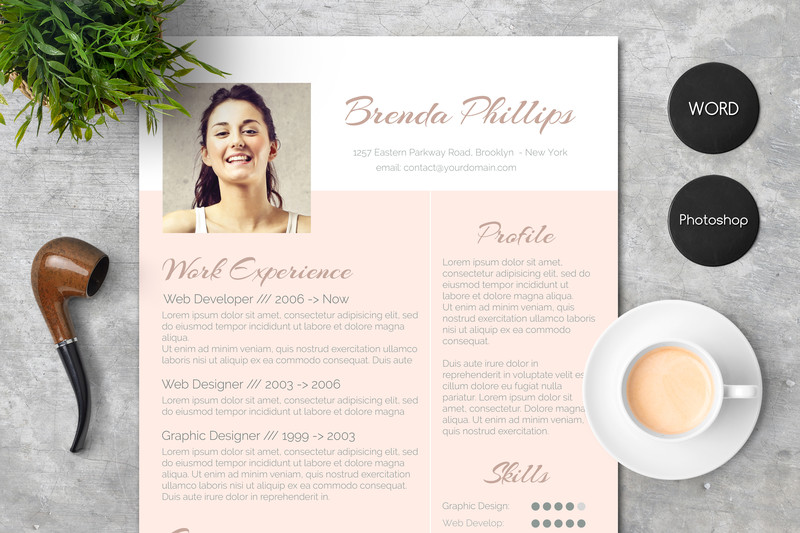 resume-design-word