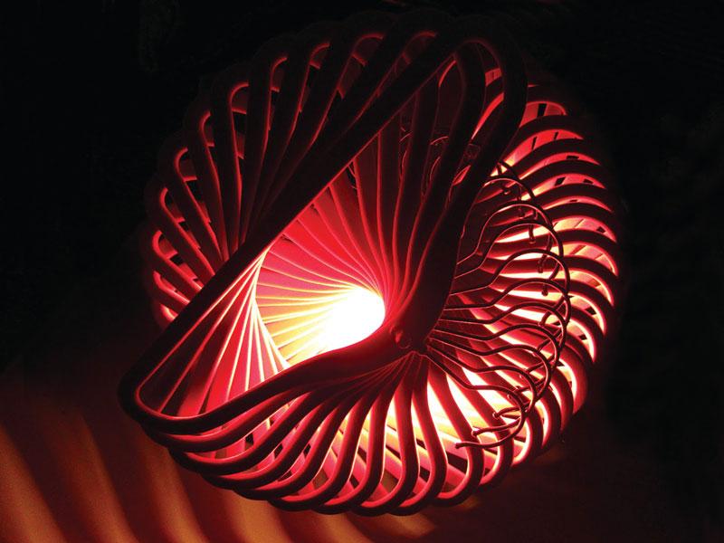 Spiral-light-underneath