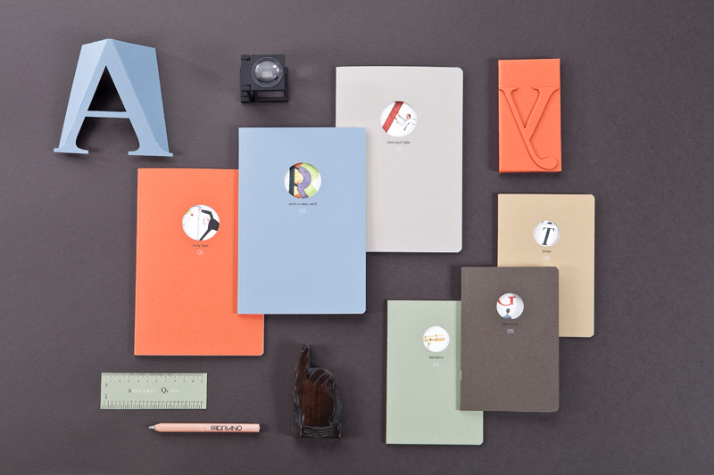 Fabriano Boutique releases notebooks for typography enthusiasts