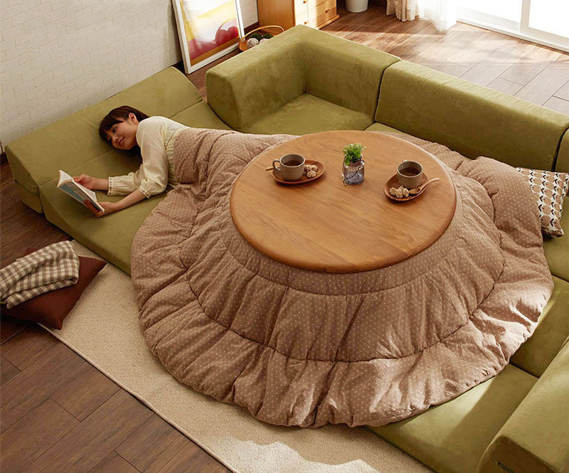 Kotatsu: the most comfy way to stay warm in winter