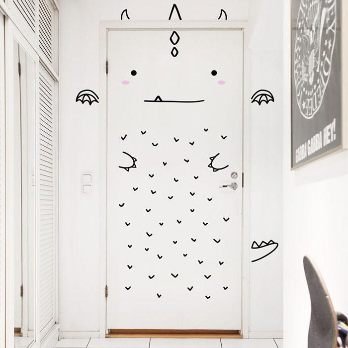 Trend stickers door decals made sundays finland