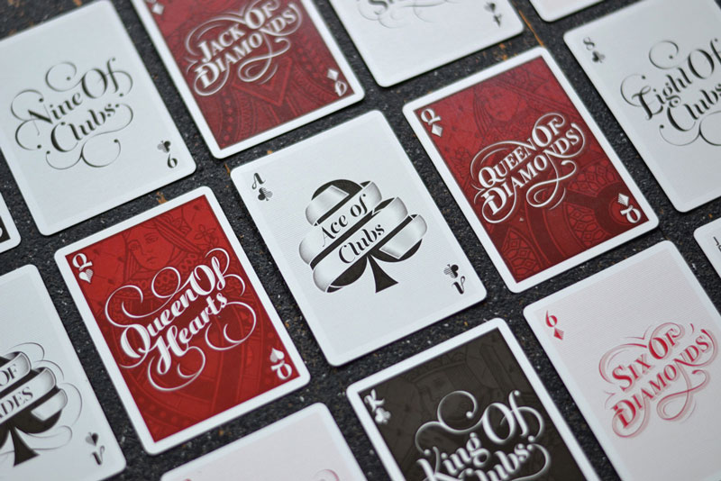 types of playing card decks