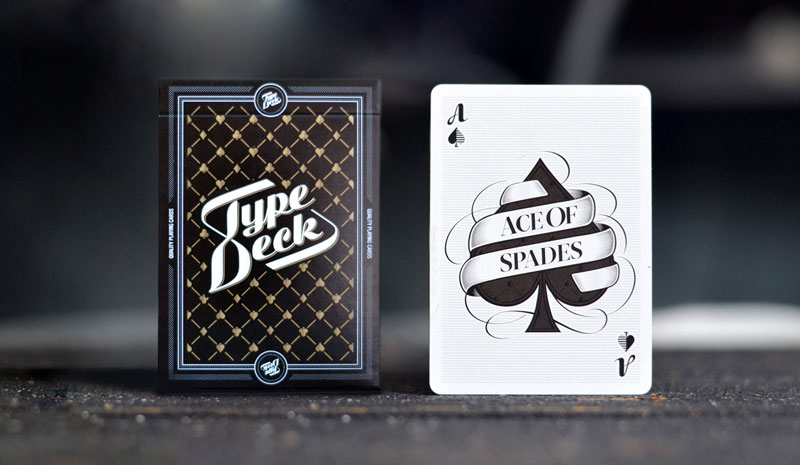 Take type to the table with Type Deck