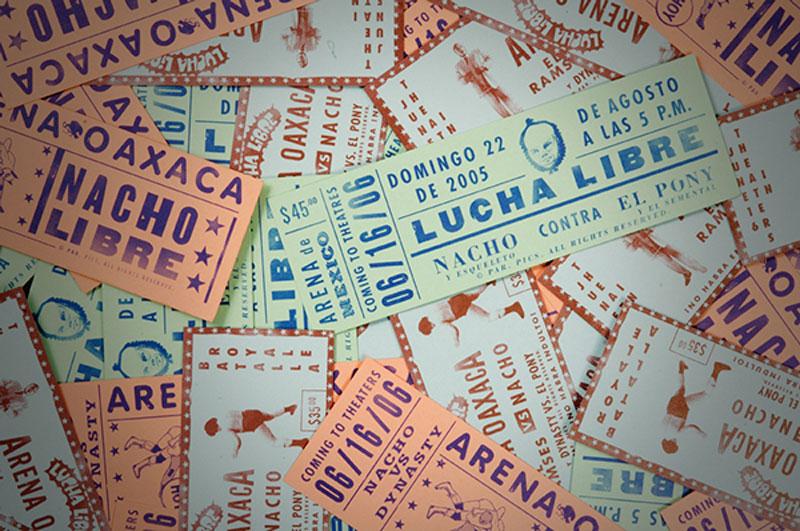 faux-wrestling-ticket-designs