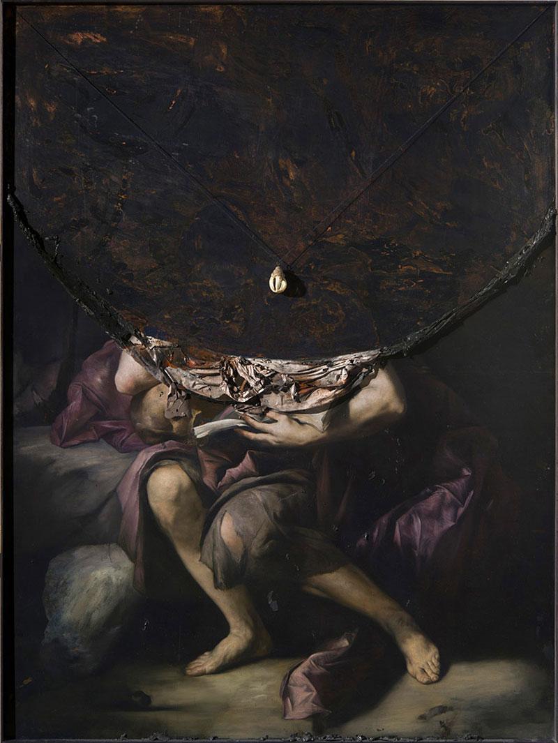 The dark and beautiful paintings of Nicolas Samori