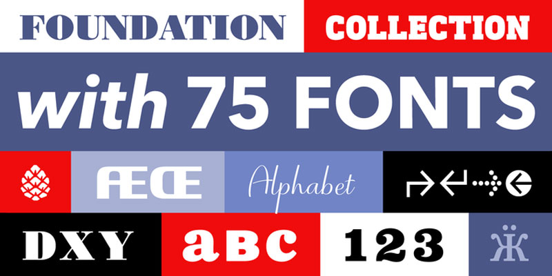 Last day to get your copy of the Foundation font bundle