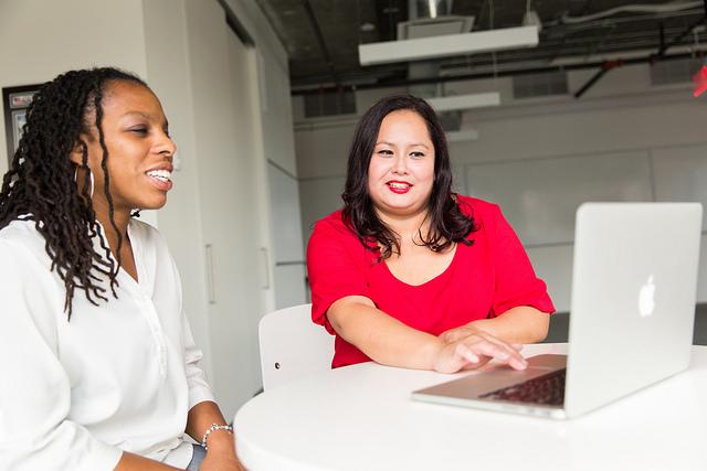 Women webdesigner
