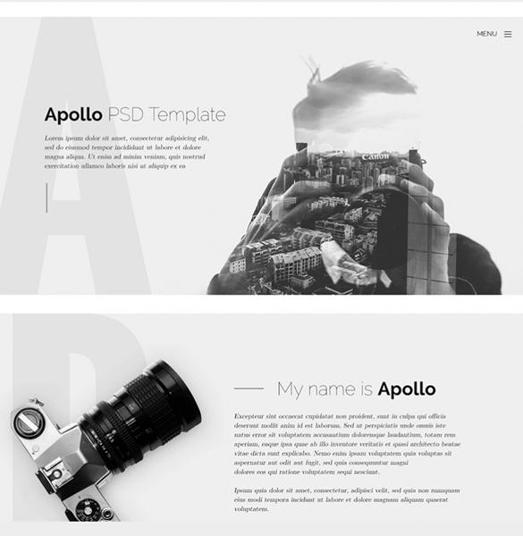 apollo-web-psd-template