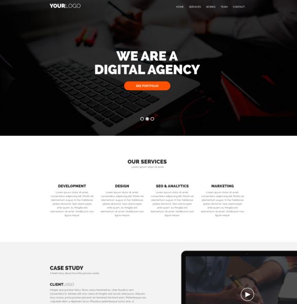 free-digital-agency-psd-web-template