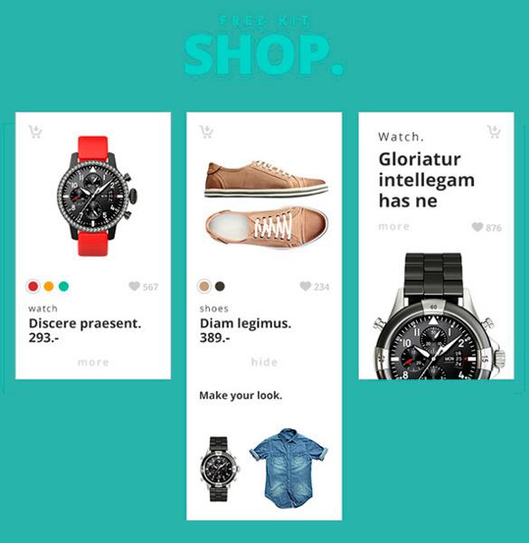 shop-ecommerce-ui-cards-set